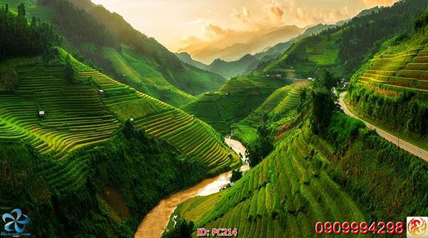 tranh phong cảnh 3d đẹp nhất