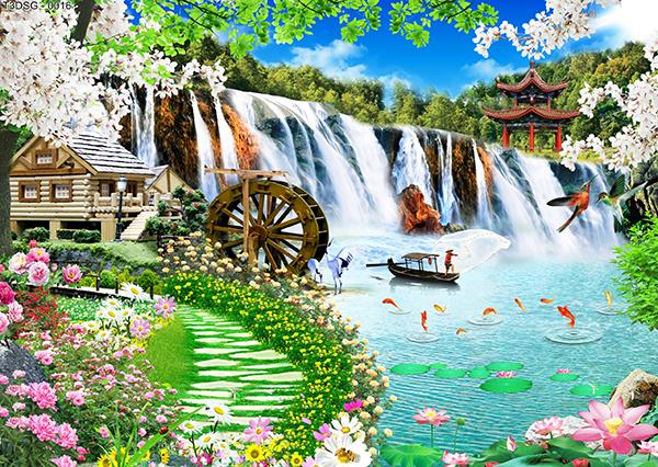 tranh phong cảnh 3d đẹp nhất thế giới