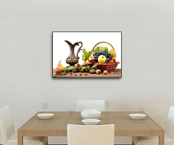 tranh dán tường 3d phòng ăn