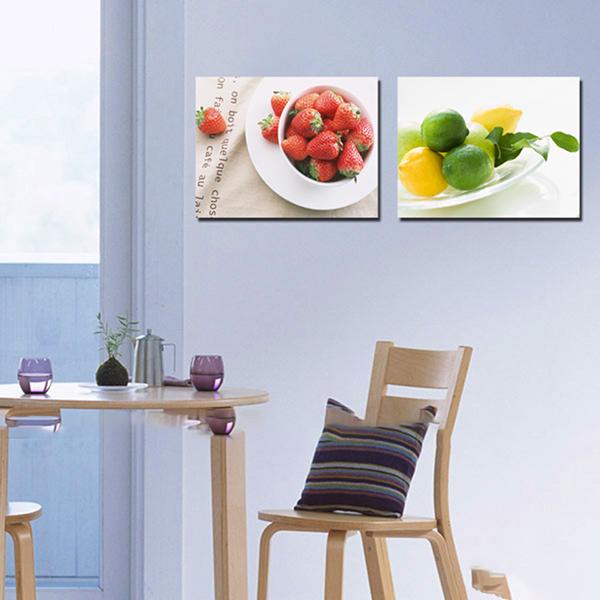 mẫu tranh dán tường 3d phòng ăn