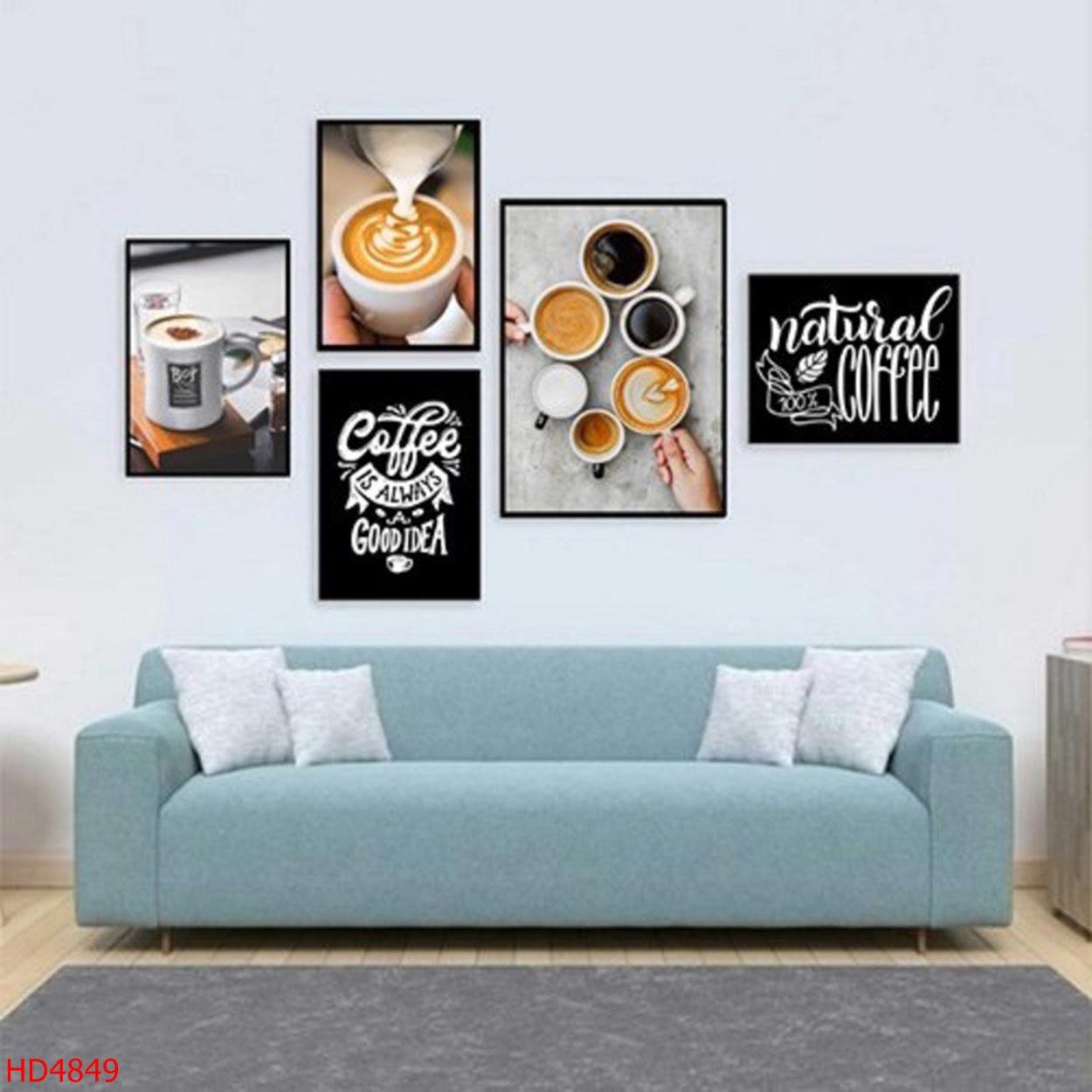Mẫu Tranh Coffee